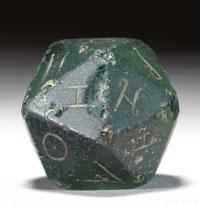 roman gaming dice